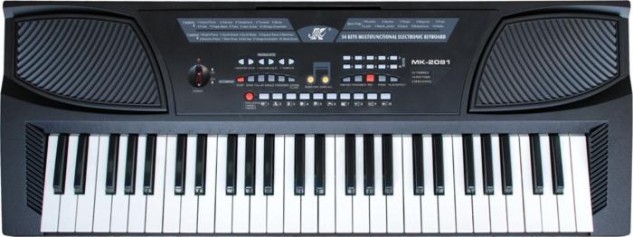 电子琴                 ● 54键发光键盘